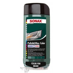 پوليش و واکس سبز سوناکس SONAX Polish & Wax Color Green