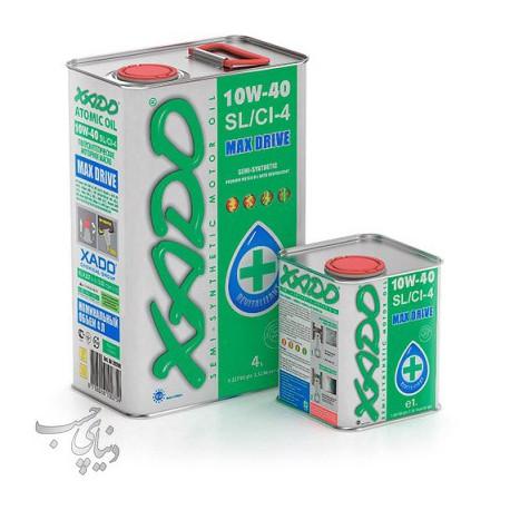 روغن موتور زادو XADO Max Drive 10W-40 SL/CI-4