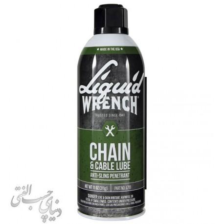 روان کننده زنجیر گانک GUNK Chain & Cable Lube