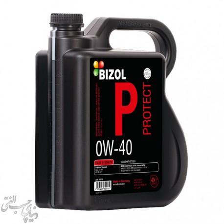روغن موتور 4 لیتری بیزول BIZOL Protect 0W-40