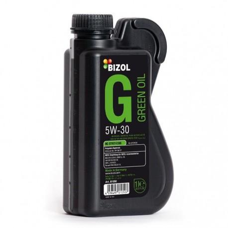 روغن موتور 1 لیتری بیزول BIZOL Green Oil 5W-40 SN