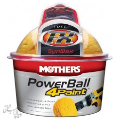 پد اسفنجی بدنه مادرز Mothers PowerBall 4Paint