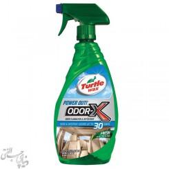 اسپری بو بَر و تمیز کننده سیستم تهویه ترتل وکس Turtle Wax Odor-X مدل 50654