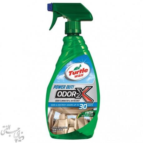 اسپری بو بَر و تمیز کننده سیستم تهویه ترتل Turtle Wax Odor-X