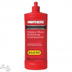 پولیش زبر قوی مادرز Mothers Heavy Duty Rubbing Compound