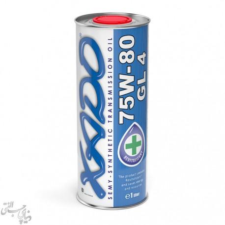 روغن گیربکس نیمه سینتتیک زادو XADO Atomic Oil 75W-80 GL4