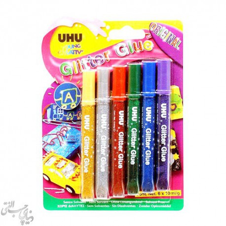 چسب اکلیلی اوهو UHU Glitter Glue
