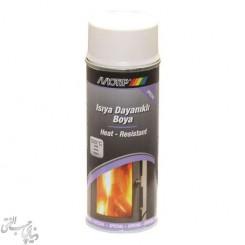 اسپری رنگ نسوز نقره ای موتیپ Motip Heat Resistant Spray Color