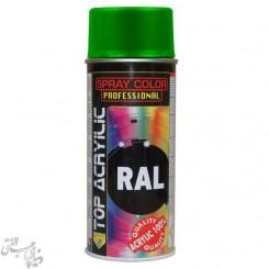 اسپری رنگ سبز نظامی مات اکو سرویس 6003 Eco Service RAL Spray Color
