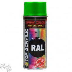 اسپری رنگ سبز نعنایی اکو سرویس 6018 Eco Service RAL Spray Color