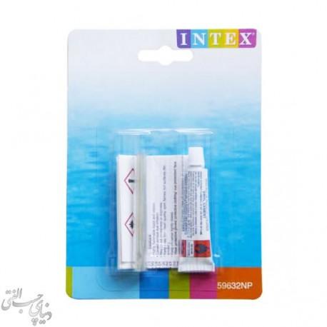 چسب و وصله تیوپ های بادی اینتکس Intex Glue & Patch