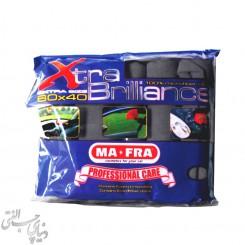 دستمال 6 عددی مایکروفایبر مفرا MAFRA Extra Brilliance Set 6 Pcs