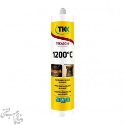 خمیر آب بندی حرارتی 1200 درجه مشکی TKK Tekadom مدل 50616