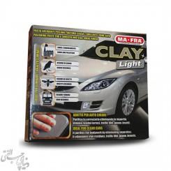 خمیر جرمگیر بدنه مخصوص خودرو های رنگ روشن مفرا MAFRA Clay Light