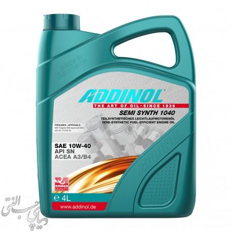 روغن موتور 4 لیتری ادینول Addinol 10W-40 Semi Synth