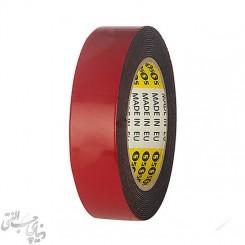 چسب دو طرفه 4 سانت پوست قرمز اس فایو S5 Double Sided Tape