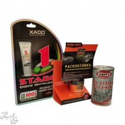پک احیاگر موتور زادو XADO 1Stage Engine Revitalizant
