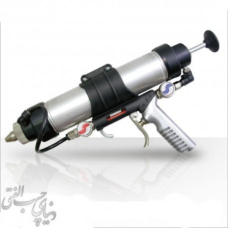 : گان چسب سیلیکون و پلی اورتان سوماکه SUMAKE Caulking Gun