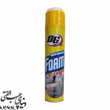 فوم تمیز کننده روکش صندلی دی جی DG Multi-Purpose Foam Cleaner