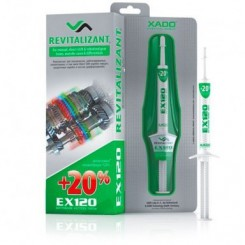 احیاگر گیربکس عادی و دیفرانسیل  XADO EX 120 REVITALIZANT FOR MANUL-DIRECT SHIFT &ROBOTIZED GEAR BOXES