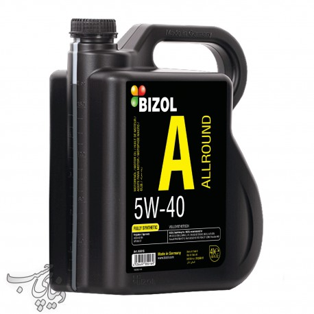 روغن موتور بیزول 4 لیتری BIZOL Allround 5W-40 API